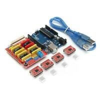 3D Printer Board Kit For Arduino CNC Shield V3+UNO R3+A4988x4 GRBL Compatible