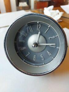 VW VOLKSWAGEN VDO Kienzle 6V 6 Volt Dash Board Clock  1965?  type 3