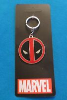 DEADPOOL LOGO KEYCHAIN NEW LICENSED MARVEL KEY RING