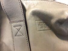 "$425 JACK SPADE ""DAVIS"" Briefcase Slim Leather TAUPE Bag Handbag UNISEX"