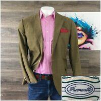 FACONNABLE Men's Blazer Jacket Sport Coat Jacket Lightweight Cotton Size M-L