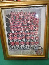 RARE Framed Picture- ALABAMA CRIMSON TIDE 1978 National Champions
