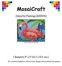 MosaiCraft Pixel Craft Mosaic Art Kit 'Colourful Flamingo' Pixelhobby