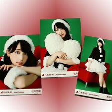 "Nogizaka46/SKE48 RENA MATSUI ""Merry Christmas 2014"" 3 photos complete set"
