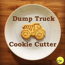 Dump Truck cookie cutter | Suitable for building construction themed kids party