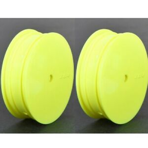 NEW Losi 22 3.0 22 4.0 Front Wheel 12mm Hex Yellow (2) TLR43010