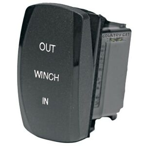 Arctic Cat WARN OEM Replacement Console / Dash Winch Rocker Switch - 0409-068