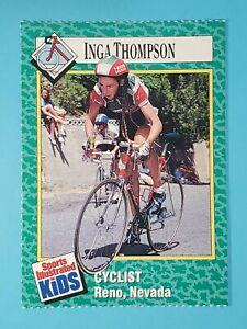 1989 Sports Illustrated For Kids Inga Thompson Cyclist #166 🚲