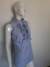 WALTER VOULAZ women's sleeveless shirt top blouse size 48
