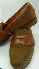 H S Trask Men's Leather Penny Loafers size 8 Medium. Nice!