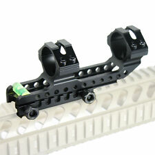 """30mm and 1"""" One Piece Rifle Scope Anti Cant Device ACD Bubble Level Mount Ring"""