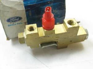 NEW - OEM Ford D9BZ-2B257-B Brake Proportioning Valve - D8BC-2B328-BB