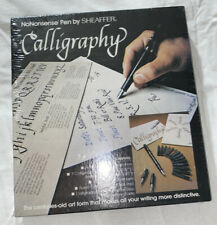 NoNonsense Calligraphy Pen & Cartridge Set By Sheaffer With Practice Pad
