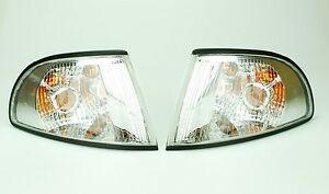 Audi A4 S4 S-Line 96-99 Set Left + Right Turn Signal Clear for Bosch Type Lamp