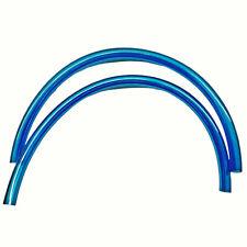 """SP1 Blue Fuel Line 5/16"""" 1ft Pre Cut Pieces x2 KAWASAKI HONDA SUZUKI KTM"""