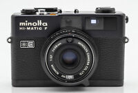 Minolta Hi-Matic F Kamera Camera Sucherkamera - Rokkor 1:2.7 38mm Optik schwarz