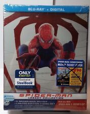 Spider-Man Legacy Collection SteelBook (Blu-ray+HD Digital Codes)NEW-Free S&H