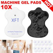 10/20x XFT TENS Machine Gel Pads Self Adhesive Reusable Electrode Pads Massager