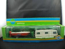 Gama n° 96983 Wohnmobil HYMER-Typ 650 Motorboot camping-car boxed / en boîte