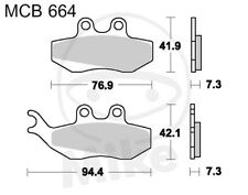 TRW Lucas Pastillas de freno mcb664 trasero Beta Rr 125LC 4t Motard