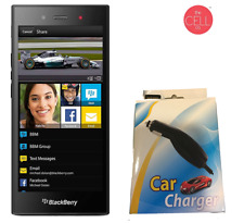 BlackBerry Z3 Stj100-1 Gsm Unlocked Smartphone Charcoal Black With Car Charger