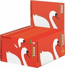 Swan Kingsize Rot Verpackung