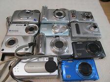digital camera joblot ,11 CAMERAS spares or repairs  MOSTLY POPULAR BRANDS  #12