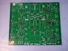 STEREO ECC83 12AX7 SRPP CR TYPE RIAA NETWORK TUBE MC / MM PHONO PREAMPLIFIER PCB