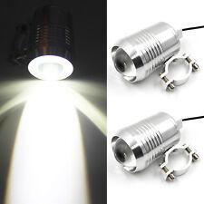 2X Motorcycle Bike CREE 30W LED Driving Fog Head Spot Light Lamp Headlight AU
