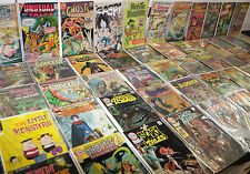 VINTAGE GOLD SILVER BRONZE MIXED INDEPENDENT HORROR COMIC LOT 54pc (8.0-9.0)