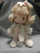 Precious Moments Christy Doll 1989 with Dolls of the Month stand