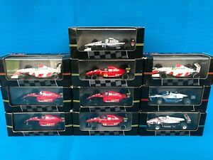 onyx model cars,formula 1 & Indy  91 & 92 collection, x10