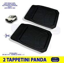 Tappetini anteriori Fiat Panda 141 A tappeti per auto in gomma 3D set da 2 kit