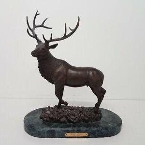 "R Black 'Royal Lineage' Bronze Ltd Ed Sculpture on Marble 17"""