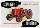 David Brown Cropmaster Tractor Advertising - Poster (A3)