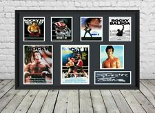 Rocky Sylvester Stallone Signed Photo Print Autographed Poster Memorabilia