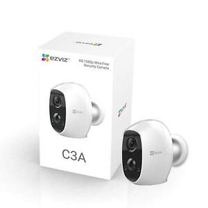 Ezviz CS-C3A-A0-1C2W Full HD 1080p Indoor/Outdoor Battery Wired Free WiFi Camera