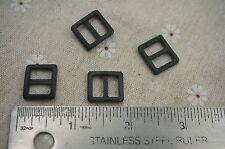 50pcs-3/8'' (10mm) Triglides webbing strap Buckles adjustors -E