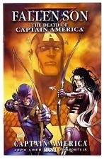 1)FALLEN SON:DEATH OF CAPTAIN AMERICA:HAWKEYE/KATE BISHOP(TURNER)CGC IT(NM/NM+)!