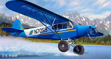 REVELL REF.04890 PIPER PA-18 WITH BUSHWHEELS ECH.1/32 NOUVEAUTE 2014