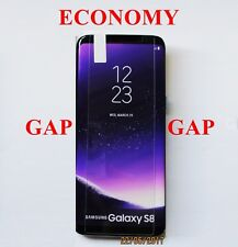 2x Tempered Glass Galaxy S8 Screen Protector Genuine Film 5mm GAP ON EACH SIDE!!