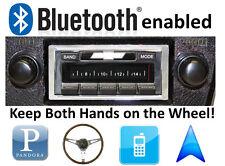 Bluetooth Enabled 73-88 Chevy Truck 300 watt AM FM Stereo Radio iPod, USB inputs