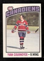 1976-77 OPC O-Pee-Chee YVAN COURNOYER #30 EX Montreal Canadiens
