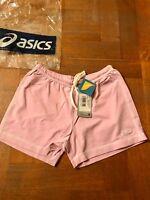 Asics nuovi pantaloncini per donna, color rosa, taglia M