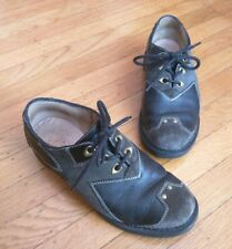 JOHN FLUEVOG ANGELS: HENK SHOES Men's US 8.5 Leather Suede Studded