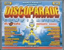 Discoparade Comp. Estate 2002 (2002) 2 Musicassette NUOVA Billy More. Earphones