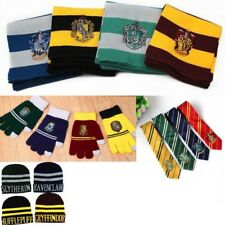 Harry Potter Sciarpa Cappello Guanti Touch Cravatte Cosplay Hogwarts