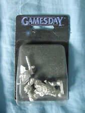 Warhammer Orks Goblins Whaaghboss Black Orc Boss Games Day 2000
