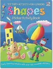 Shapes  Sticker Activity Book by Nat Lambert (Paperback, 2011)