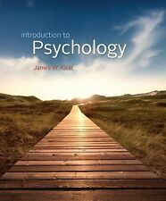 Introduction to Psychology 10th Edition by J. Kalat (2013), great condition